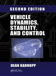 Vehicle Dynamics, Stability and Control 2nd Edition,1466560851,9781466560857