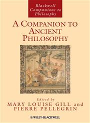 A Companion to Ancient Philosophy,1405188340,9781405188340