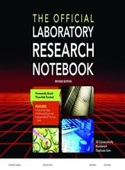 The Official Laboratory Research Notebook (50 Duplicate Sets),1284029603,9781284029604
