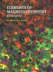 Elements of Magnetochemistry 2nd Edition, Reprint,818533692X,9788185336923