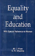 Equality and Education With Special Reference to Women,8185475962,9788185475967