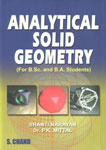 Analytical Solid Geometry Revised Edition, Reprint,8121926610,9788121926614