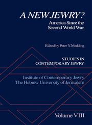A New Jewry? America Since the Second World War,0195074491,9780195074499