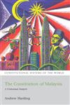 The Constitution of Malaysia A Contextual Analysis,1841139718,9781841139715