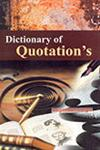 Dictionary of Quotation's,8189239007,9788189239008