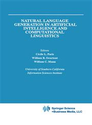 Natural Language Generation in Artificial Intelligence and Computational Linguistics,0792390989,9780792390985