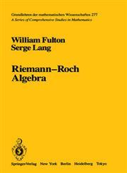 Riemann-Roch Algebra 1st Edition,0387960864,9780387960869