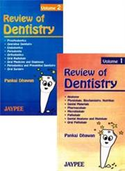 Review of Dentistry 2 Vols. 1st Edition,8171799787,9788171799787