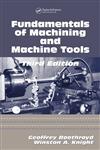 Fundamentals of Machining and Machine Tools,1574446592,9781574446593