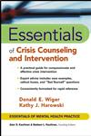 Essentials of Crisis Counseling and Intervention,0471417556,9780471417552